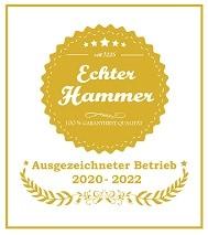 Echter Hammer Siegel 2020 2021 2022